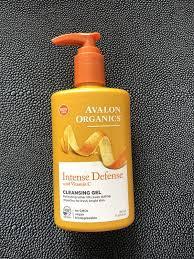 Очищающий гель avalon organics <b>intense defense с витамином</b> с ...