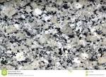 Black and white granite