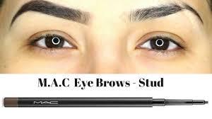 <b>MAC</b> Eye Brows Shade <b>Stud</b> || Eyebrow pencil review + Demo ...
