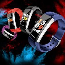 <b>Smart</b> Watch Bracelet QW18 Heart Rate Monitor IP68 Waterproof ...