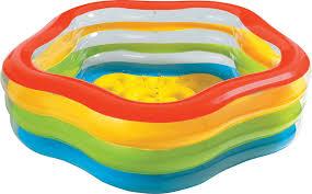 <b>Бассейн надувной SUMMER</b> COLORS 185х180х53см от 6лет ...