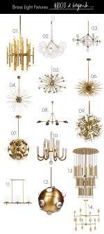 brass light fixtures for every budget brass lighting fixtures