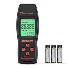 Meterk EMF Meter Electromagnetic Field Radiation Detector ...