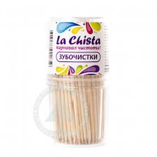 Купить Зубочистки <b>La Chista</b> 190шт с доставкой на дом в ...