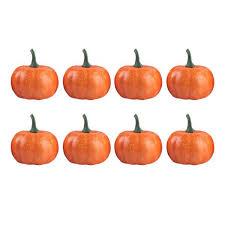 8pcs <b>Props</b> Artificial <b>Halloween</b> Funny Creative <b>Pumpkin</b> Toys Party ...