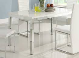 Parsons Dining Room Table White Parsons Dining Table High Gloss White Dining Table 2