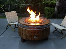 small firepit patio table
