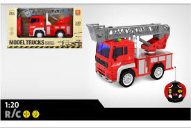 <b>Радиоуправляемая пожарная машина</b> WenYi Fire Truck 1:20 ...