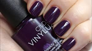 <b>CND VINYLUX Weekly Polish</b> - Application Tutorial & Dry Time Test ...