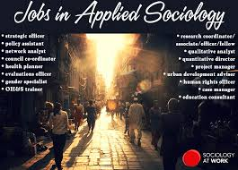 what is applied sociology sociology at work jobs in applied sociology