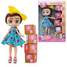 Купить <b>куклу 1Toy Boxy</b> Girls Brooklyn 20 см. с аксессуарами в 4-х ...