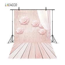 <b>Laeacco</b> Curtain Flower <b>Wall</b> Wooden Floor Baby Newborn ...