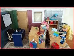 Румбокс Школа для кукол. the <b>school</b> roombox for <b>dolls</b> - YouTube