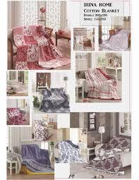 <b>Плед</b> Irina <b>Home</b> Cotton <b>Blanket</b> хлопковый