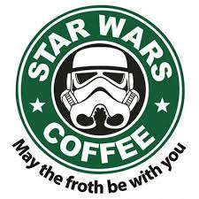 <b>Star Wars Coffee May</b> the froth be with you | COFFEEEEEEE!!!! | Star ...