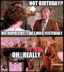 Ruprecht from Dirty Rotten Scoundrels | Birthday Memes | Pinterest via Relatably.com