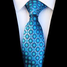 Ricnais New Design Floral <b>Paisley</b> Silk Tie for <b>Men</b> Striped Blue ...