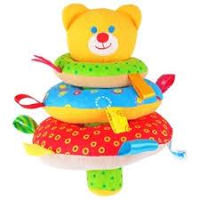 «<b>Мягкие игрушки &quot</b>;Мякиши&quot; Пирамидка мишка ...