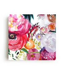 Bloom <b>Canvas</b> Print | Flower shower curtain, Floral shower curtains ...