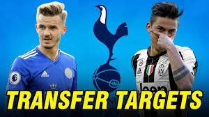 Top 5 Tottenham Hotspur Transfer Targets in January 2020 - YouTube