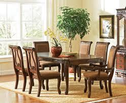 Dark Dining Room Set Buy Steve Silver Harmony 7 Piece 66x42 Dining Room Set In Dark Oak