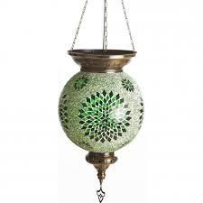 <b>0130T</b>,<b>07</b> Подвесной <b>светильник</b> зеленый E27 <b>Kink Light</b> Марокко ...