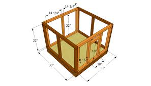 Dog House Plans Free   Free Garden Plans   How to build garden    Attaching the walls