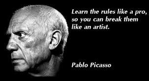 Pablo Picasso Quotes. QuotesGram via Relatably.com