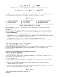 example worker resume sample examples  seangarrette coproduction worker warehouse production worker resume