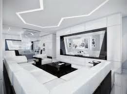 minimalist dream house black white awesome all over futuristic interior design black white interior design