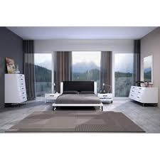 bahamas high gloss white black bedroom set bed dresser mirror and 2 bedroom black sets cool beds