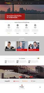 website templates job search finder bank portal career custom  website template prowex search finder bank portal career
