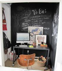 the home office beautiful home office chalkboard