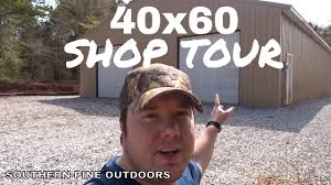 Garage/Shop Tour <b>40X60</b> - YouTube