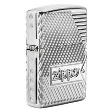 <b>Зажигалка</b> Zippo <b>Bolts</b> Design <b>Armor</b>   zippo-store.com.ua