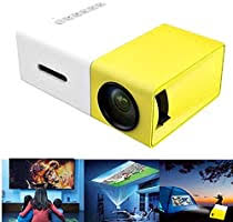 Tricherry Mini Projector - Portable Theater <b>Home Office</b> HD 1080P ...