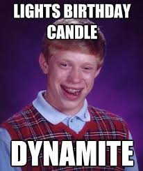 The 50 Funniest Bad Luck Brian Memes | Complex via Relatably.com