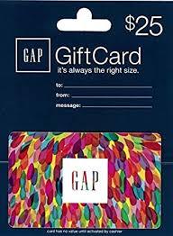 Amazon.com: Gap $25 Gift Card: Gift Cards