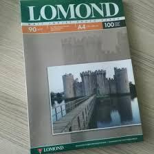 <b>Фотобумага А4 Lomond</b> 90гр, 100листов – купить в Москве, цена ...