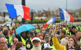 <b>United colours of</b> the 'yellow vests' - The Hindu