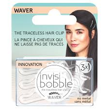 <b>Invisibobble Waver</b>, <b>Crystal Clear</b> Hair Clip NOT MAPPED   Meijer ...