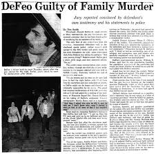 "「Ronald Joseph ""Butch"" DeFeo Jr」の画像検索結果"