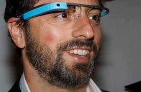 Google founder Sergey Brin poses for a portrait wearing Google Glass glasses before the Diane von Furstenberg Spring/Summer 2013 collection show during New ... - sergeybrin-google-glass