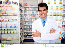 portrait of a male pharmacist at pharmacy stock images image portrait of a male pharmacist at pharmacy