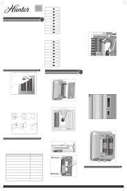 hunter fan thermostat 44132 user guide manualsonline com hunter fan 44132 thermostat user manual