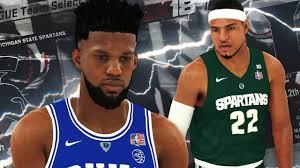NBA 2K18 - NCAA 2K18 College Roster Gameplay Duke vs ...