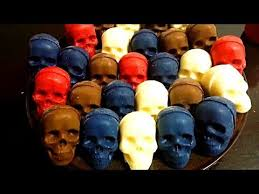 <b>Silicone Skull Mold</b> for Ice or Chocolate - YouTube