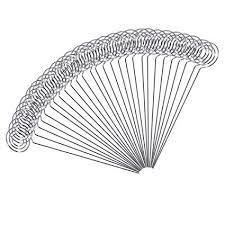 "MENGCORE <b>50pcs</b>/<b>lot 5</b>"" DIY heart shape craft wire clip card note ..."