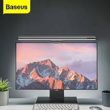<b>Baseus</b> Led Desk Lamp Adjustable Reading Screen Hanging Light ...