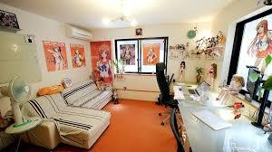 workspaces of figurine comic manga enthusiasts artist office